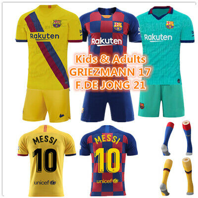 Custom Football Outfit Strips Soccer Suits Training Jerseys Kits For Kids Adults