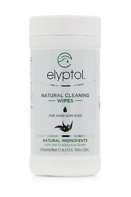 ELYPTOL Antibacterial Hard Surfaces Wipes (6 Canister of 65 wipes ea.)