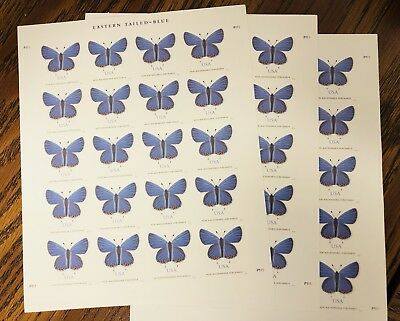 USPS Eastern Tailed-Blue (3) Sheets of 20 stamps (60) Two-ounce Forever stamps