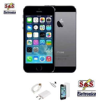 Iphone 5S Ricondizionato 16Gb Grado A+Nero Grey Originale Apple Rigenerato