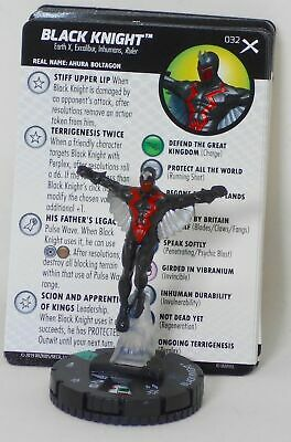 #	032		Black Knight	 - UNC - 	Marvel Heroclix EARTH X