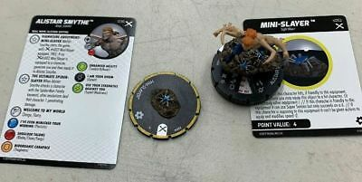 #	036		Alistair Smythe w/ s002 Mini-Slayer	 - RARE - 	Marvel Heroclix EARTH X