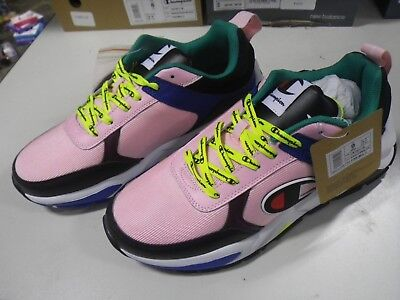 f0d2f05182897 AUTHENTIC Champion 93 Eighteen Pink Multi CM100116 Casual Shoes Mens size  9.5