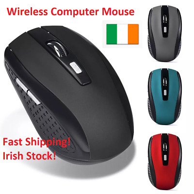 Wireless Computer Mouse 2.4GHz Gaming Mouse USB Receiver Pro Gamer For PC Laptop
