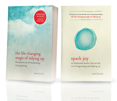 Spark Joy & The Life-Changing Magic of Tidy by Marie Kondo (2 E-BooK ) PDF EPUB
