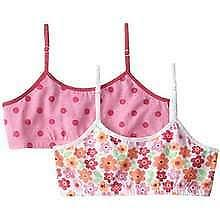 Jockey Girls Crop Top 2 Pack Breathable Bras With Convertible Straps