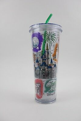 2019 Disney Parks Starbucks Cold Cup Venti 24oz Acrylic Tumbler