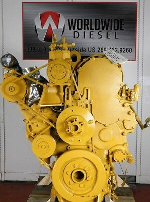 1999 CAT 3406E 2WS Diesel Engine, 475-500HP  Approx  553K Miles  All