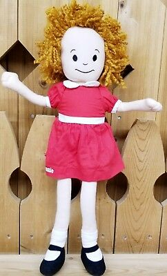 """Official """"ANNIE"""" Plush Doll Broadway Musical Little Orphan Annie Collectable"""