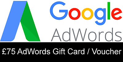 £75 Google AdWords Gift Card