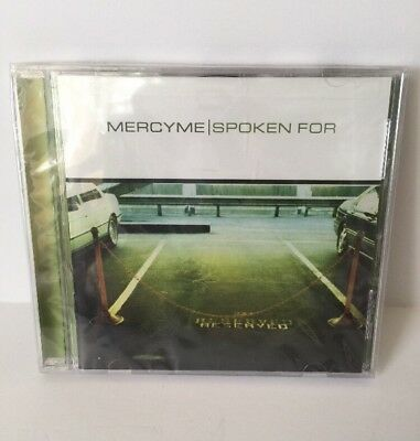 New Spoken For by MercyMe Audio CD INO Records MERCY ME Christian Music 2002