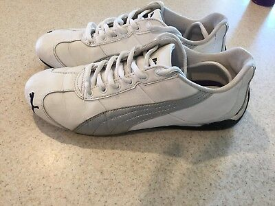 31c3bfb91fac PUMA ARCHTEC WOMEN S Running Shoes Size 8.5 Gray White Leather Suede ...