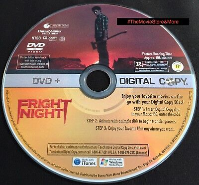 Fright Night (DVD) Colin Farrell **DISC ONLY *Free Ship!