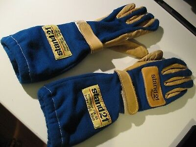 F1 Gloves Alain Prost genuine used and Signet 1993