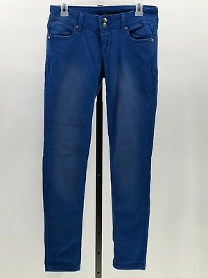 041335da9fa VIGOSS STUDIO SKINNY Leg Medium Wash Destroyed Denim Jeans. Women's ...