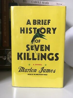 A Brief History of Seven Killings - Marlon James - Signed First Edition