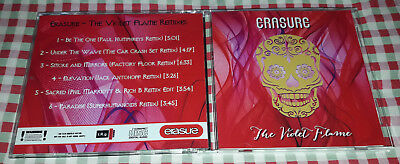 Erasure - The Violet Flame Remixes CD SPECIAL FAN EDITION