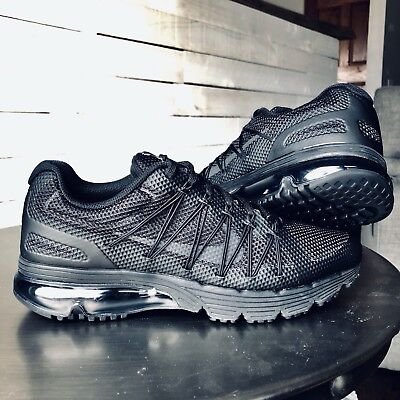 brand new 7269f 1bdd2 Size 8.5 Nike Air Max Excellerate 3 Pure Black men s shoes. 703072-020
