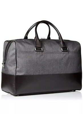 c2b640d435fe Jack Spade Men s Duffle Bag Tech Oxford Grey NYRU2681-020  598 New With  Tags!