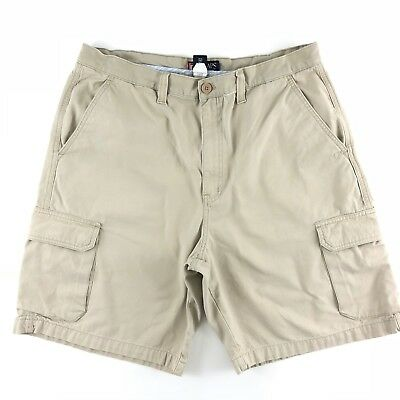 9ae607430c Chaps Cargo Shorts Mens Size 38 Flat Front khaki Cotton Fishing Outdoors  Hiking