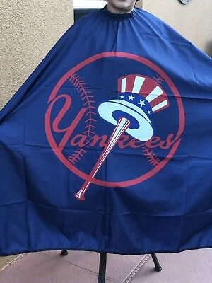 Yankees Barber hair cutting and styling cape
