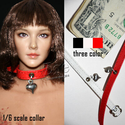 [NO STAIN] 1/6 TBLeague phicen female Gothic  collar  for  hottoys playtoys