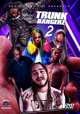 Trunk Bangerz 2019 Hip Hop Rap Music Video Dvd Travis Scott 6Ix9Ine Eminem Kanye