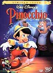 Pinocchio (DVD, 1999, Limited Issue)
