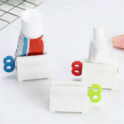 Toothpaste Rolling Tube Toothpaste Squeezer Stand Holder Bathroom Accessories##
