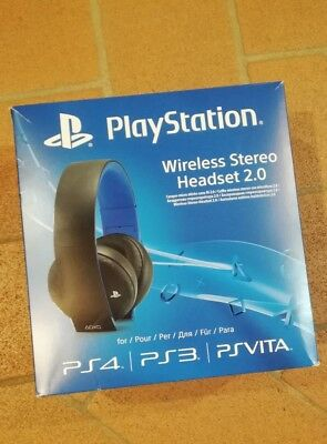 Cuffie Wireless Ufficiale Sony Playstation 4 2.0 Stereo Headset Videogames  Ps4 92f2f0f402ff