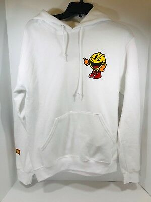 dc5679638 PAC MAN VINTAGE Hoodie Men's Size XL Official Licensed Bandai Namco