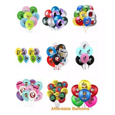 Children party decoration birthday balloons. Children party bag balloon fillers
