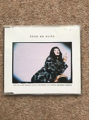Dead Or Alive – You Spin Me Round (Like A Record) ('96 Remix) - CD