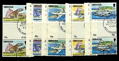 Gibraltar 1978 60th Ann Royal Air Force - gutter pairs used