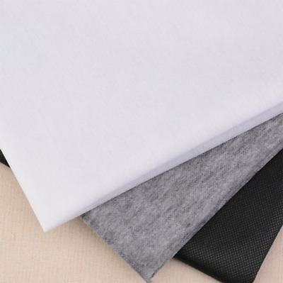 Iron On Fusible Interfacing WHITE MEDIUM WEIGHT Fabric 100cm Wide Per Metre