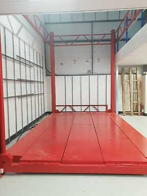 4 Post, Wide, Duty High Access Lift Max 3.5M High X 4.8M X 3.2M From £8499 +Vat