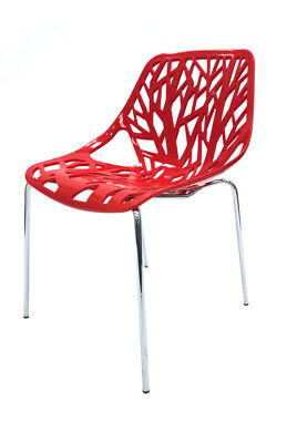 High Quality Red Tuscany Chairs, Canteen Chairs, Bistro Chairs, Restaurant Chair