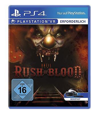 PS4 Game until Dawn : Rush of Blood [ Psvr ] Playstation VR Will Required New
