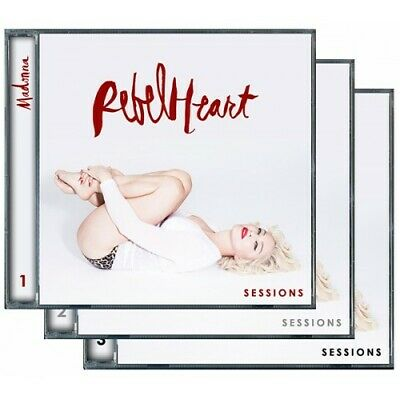 *RARE* Madonna Rebel Heart Sessions CD Collection (3 CDs)