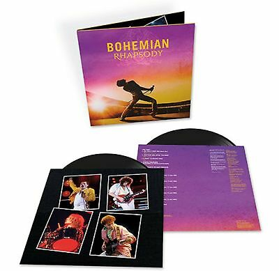 Queen Bohemian Rhapsody Motion Picture Soundtrack 2 LP 180 Gram Vinyl NEW