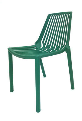 Green Lisbon Stacking Chairs, Garden Chairs, Bistro Furniture, Restaurant Chairs
