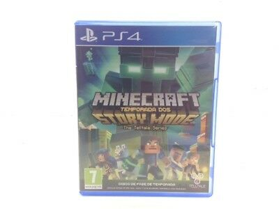 Juego Ps4 Minecraft: Story Mode The Complete Adventure Ps4 4410903