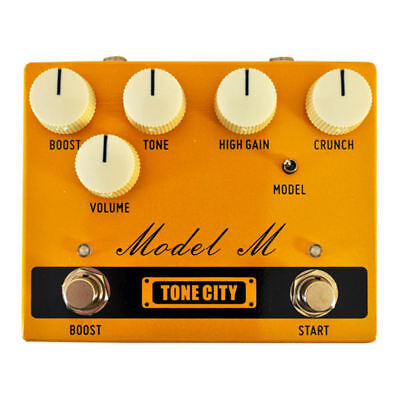 TONE CITY Model M Distortion Preamp Guitar Effect Pedal New