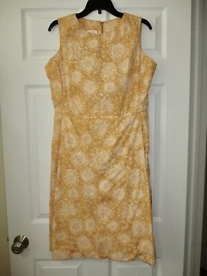 8b7d68301ec311 Lilly Pulitzer The Lilly Classic Dress Vintage 1960s Rare Yellow Floral  Shift 8