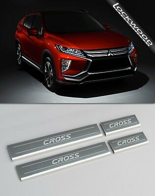 Mitsubishi Eclipse Cross Stainless Sill Protectors / Kick Plates