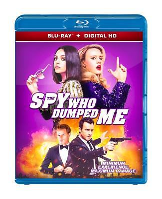 The Spy Who Dumped Me (Blu-Ray + Digital Hd Disc) 2018 Region Free