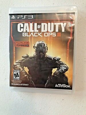 Call of Duty Black Ops III for Playstation 3/Missing manual/Free Shipping
