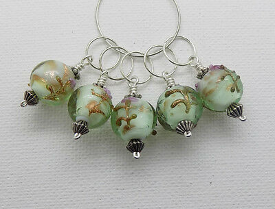 5 x Vintage Style KNITTING Stitch Markers ~ 7.5mm