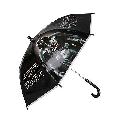 Official Star Wars Kids - Darth Logo - Umbrella - Black