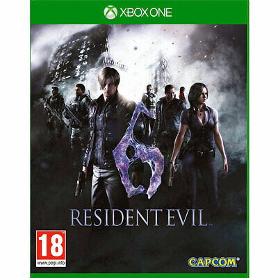 Resident Evil 6 Remastered (Xbox One) New/Sealed Inc All Map & Multiplayer DLC